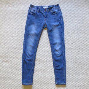 Encore Skinny Jeans Med/Light Wash Sz 3 EUC